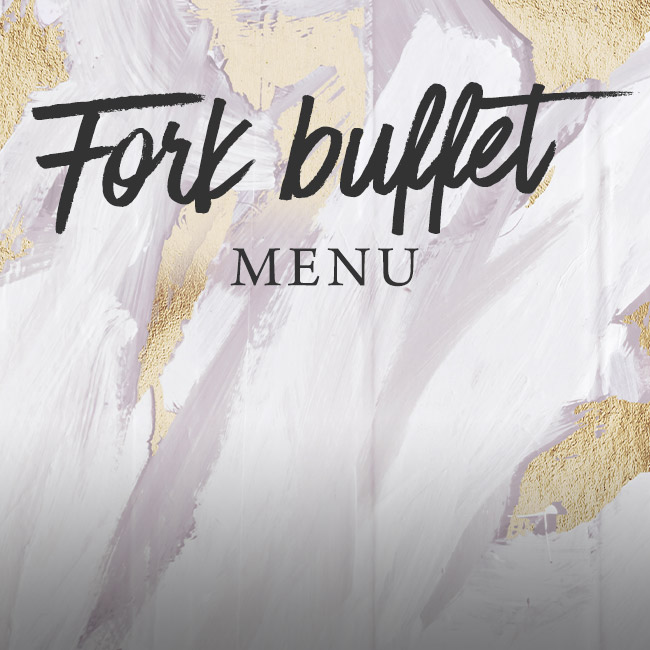 Fork buffet menu at One Kew Road