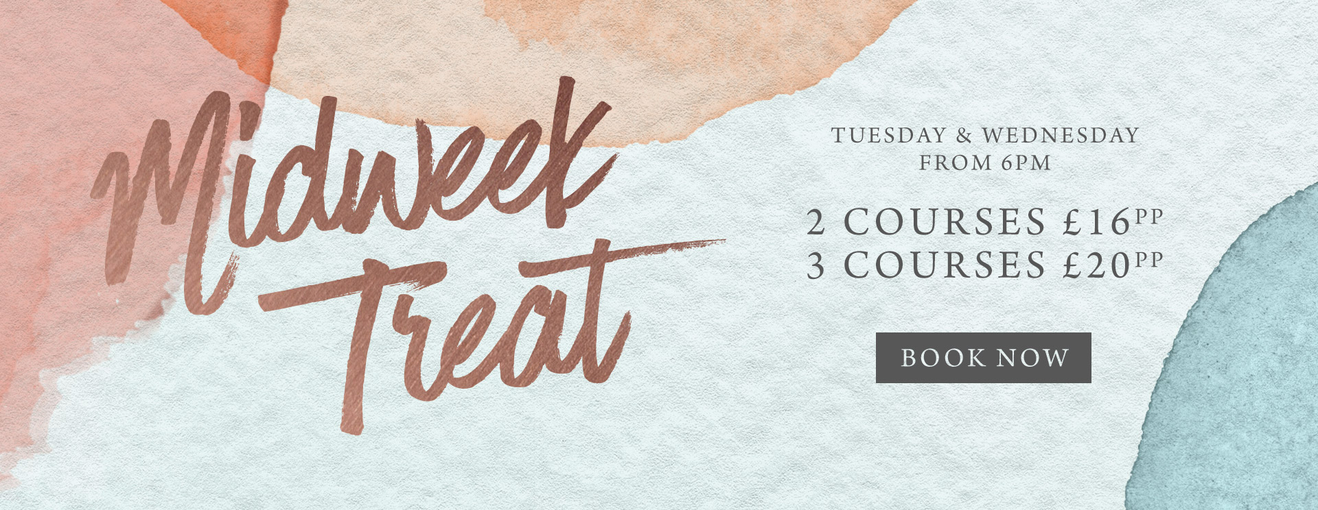 Midweek treat at One Kew Road - Book now